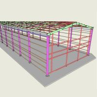 Wholesale High Accuracy Steel Structural Engineering Design 3D3S With Level 6 Earthquake Type from china suppliers