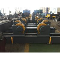 Wholesale Grey / Yellow Self Aligning Rotator , Pipe Turning Rolls For Tank And Pressure Vessel from china suppliers
