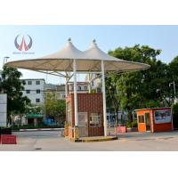 Wholesale Gate Roofing Cover Tension Fabric Structures , Fabric Roof Structures For Outdoor Store from china suppliers