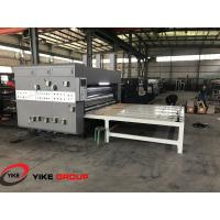 Wholesale Chain Feed Printer Slotter And Die Cutter Machine High Working Efficiency from china suppliers