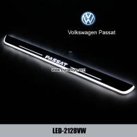 Wholesale Volkswagen VW Passat LED lights side step car door led sill auto scuff light from china suppliers