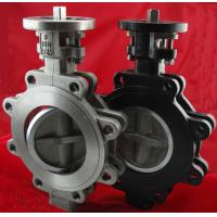 Wholesale PN10 Stainless Steel Centerline Butterfly Valves , Metal Seated Lug Type Butterfly Valve from china suppliers