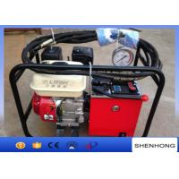 Wholesale Super high pressure double speed gasoline engine hydraulic pump station from china suppliers