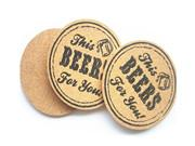 Wholesale Cork Coaster Household Promotion Gift C109 from china suppliers