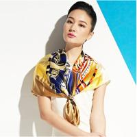 Wholesale Customizable 50*120 cm Printed Pure Silk Ladies Neck Scarves for Fashion, Uniform from china suppliers