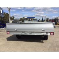 Wholesale 12 Inch High Sides Tray Top Trailer / 7 X 5 Box Trailer With Rear Door from china suppliers