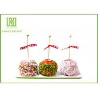 Wholesale Healthy Cake Ball Sticks 150 X 3.0mm , Logo Printed Personalized Wooden Candy Sticks from china suppliers