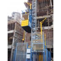 Double Cage Construction Hoist Elevator 3200kg With High Speed