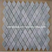 Wholesale Ming Green Marble Mosaic Tile (Diamond Shape) from china suppliers