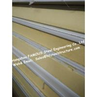 Wholesale Gray / White Cold Room Panel Polyurethane / PU Sandwich Panels , Width 950mm from china suppliers