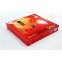 Wholesale Elegent Red Printed Recycled Cardbaord Paper Gift Boxes , Moon Cake packaging from china suppliers