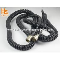 Wholesale 24V Paver Leveling System Paver Rubber Spiral Electrical Wire Vogele Cable from china suppliers