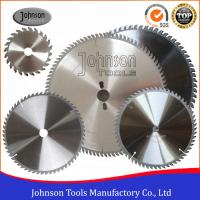 Wholesale High Precision Sharp Cutting Blade TCT Circular Saw Blades For Plastic / Plywood / Aluminum from china suppliers