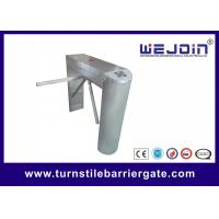Wholesale waist high 304 stainless steel rfid access control motorized tripod turnstile barrier gate manufacturer from china suppliers