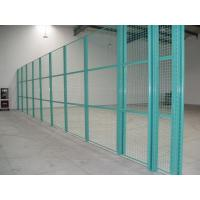 Wholesale Galvanzied Razor Barbed Wire Mesh For Fence , Diamond Aluminium Grille Green White Mesh from china suppliers