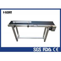 Wholesale Speed Adjustable Industrial Conveyor Belts Customized Size For Food Industry from china suppliers