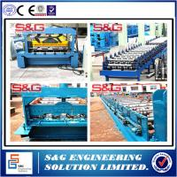Wholesale Customized Galvanized Metal Roof Panel Roll Forming Machine 26 Stations from china suppliers