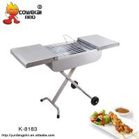 Portable Trolley Charcoal BBQ Grill