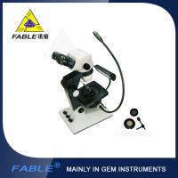 Wholesale Parallel light desin Generation 6th Swing arm type Gem Microscope F07 binocular lens from china suppliers