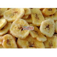 Wholesale Natural Sweet Freeze Dried Banana Chips No Added Sugar Longer Shelf Life from china suppliers