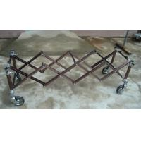 Quality 6Inch Wheel Anodiezed Aluminium Church Truck Mortuary Equipment with 4 or 5 X Frame for sale