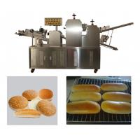 Buy cheap Double Rollers Bread Dough Making Machine for Hot Dog Bakery Production Line from wholesalers