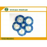 Wholesale Blue Monte Carlo Clay Poker Chips With Dollar In Edge 13.5g Poker Chips from china suppliers