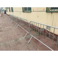 Wholesale Construction Site Fence  galvanzde pipe fence  Crowd Control Barrier Portable Fence from china suppliers