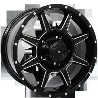 Wholesale 4x4  suv  17x8.5   18x8.0 Alloy Wheels PCD 5x150   KIN-78025 from china suppliers
