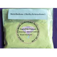 Wholesale Bulking steroid Metribolone Methyltrienolone powder result profile dosage for grow muscle from china suppliers