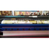 Wholesale Soft PVC Vinyl Large Format Printer in 2 pcs DX7 Head in CMYK Ink Color from china suppliers