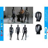 Wholesale Glossy Black Full Standing Female Body Mannequin / Fiberglass Female Body Display from china suppliers