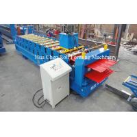 Wholesale High Efficiency Double Layer Deck Roll Forming Machines / Roofing Sheet Roll Forming Machine from china suppliers