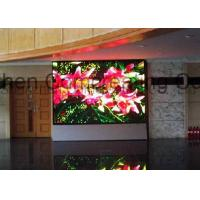 Wholesale Full Color HD Indoor P4 LED Board Display Module 256mmx128mm Advertising LED Video Wall Indoor Front / Back Service from china suppliers
