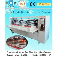Wholesale Vertical Paper Slitting Carton Cutting Machine With For Pressing / Folding from china suppliers