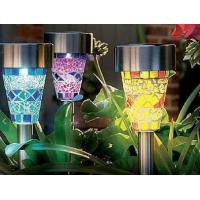 Wholesale Durable Solar Led Garden Lights , Outdoor Solar Lawn Lamps 3 Years Warranty from china suppliers