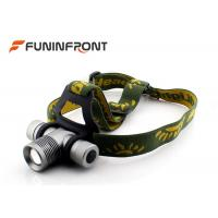 Wholesale CREE XPE  Zoom Outdoor LED Headlamp Bicycle Lights Using 18650 Battery from china suppliers