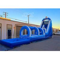 Wholesale 20M Long CE Test Inflatable Bouncer Slide With Air Blower 3 Years Warranty from china suppliers