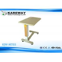 Quality Luxurious Adjustable Hospital Tray Table Medical Hospital Furniture KJW-MT03 for sale