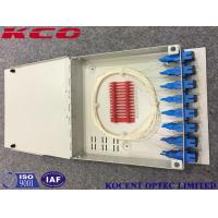 Wholesale KCO-FTB16D Fiber Optic Terminal Box 16 Ports For FTTH With SC/APC Adapter And Pigtail from china suppliers