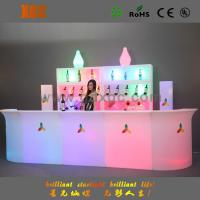 Wholesale illuminated WRGB colored LED bar counter with remote control change different colors from china suppliers