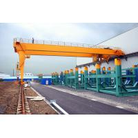 Wholesale Warranty 2 years BMH semi-door competitive price 5t -35t semi gantry crane from china suppliers