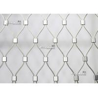 Buy cheap China Candurs Flexible Stainless Steel Wire Rope Mesh For Railing from wholesalers