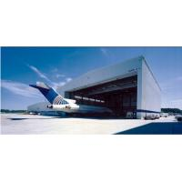 Wholesale Pre Engineered Clear Span Steel Buildings Roll - Up Doors For Aircraft Hangars from china suppliers