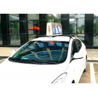 Quality Lightweight 5mm Taxi Top Led Display Advertising On Cabs , Vehicle Led Sign for sale