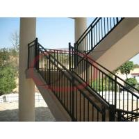 Wholesale Custom Outdoor Ornamental Steel Modular Steps Handrails from china suppliers