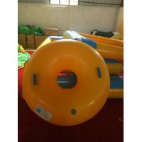 Wholesale 1 Meter In Diameter Yellow Inflatable Ski Sleigh For Adults And Children Snow Skiing from china suppliers