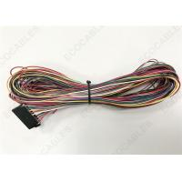 Wholesale Red Electrical Wire Harness For Aid Vehicles Taximeter With Samtec ISSM-10 from china suppliers