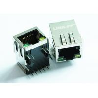 Wholesale ARJ11E-MBSD-A-B-GM2 Gigabit 10Pin Magnetic RJ45 Jack Single Port With Tab Down from china suppliers