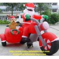 Wholesale Christmas Decoration Santa Custom Inflatable Products Red Color SGS Certification from china suppliers